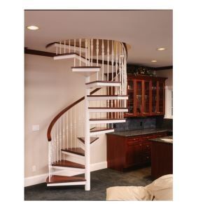 Metal And Wood Spiral Stairs – Stairways Inc Sweets   Wooden Spiral Stairs Design   Interior   Curved   Space Saving   Rustic   Contemporary