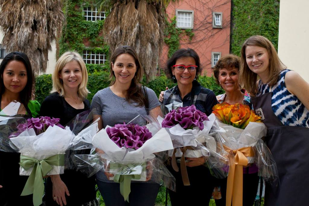 Teaching in Mexico City: Floral Design Workshops
