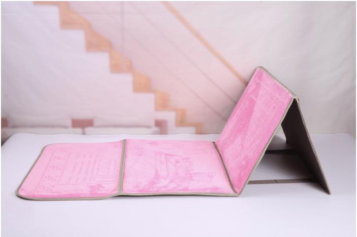 Pink Backrest prayermat