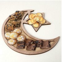 Rustic Moon Star Table Decoration