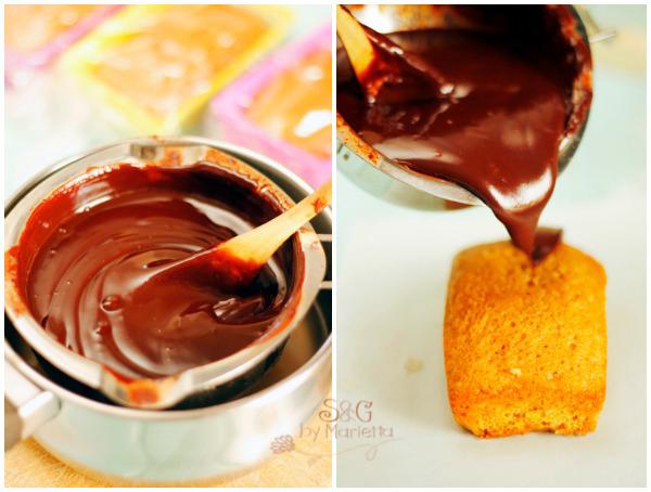Echar el chocolate