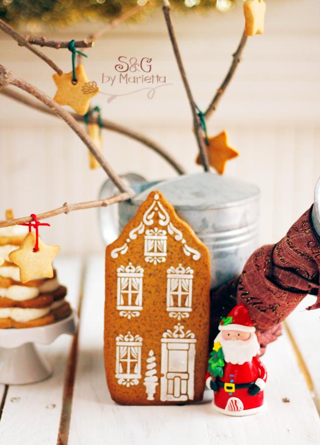 ARbol de Navidad,Arbol de Navidad con jengibre, galletas de jengibre, galletas de Navidad, Recetas Navideñas, arbol de navidad comestible, crema Chantilly, nata montada, Navidad, Papa Noel, recetas para Navidad, galletas de Mantequilla, galletas para decorar, abeto de navidad, recetas para niños