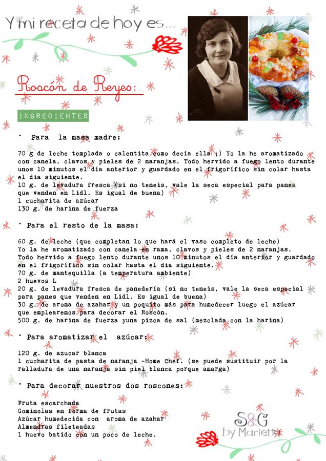 Roscón de Reyes, Sweets and Gifts by Marietta, La gran Marietta, fruta confiitada, tiempos de levado, harina de fuerza, Navidad, recetas Navidad, Roscón para niños, masa madre, aroma de naranja, la mejor receta de Roscón de reyes, la mejor receta del mundo, el mejor Roscón del mundo, paso a paso Roscón de Reyes
