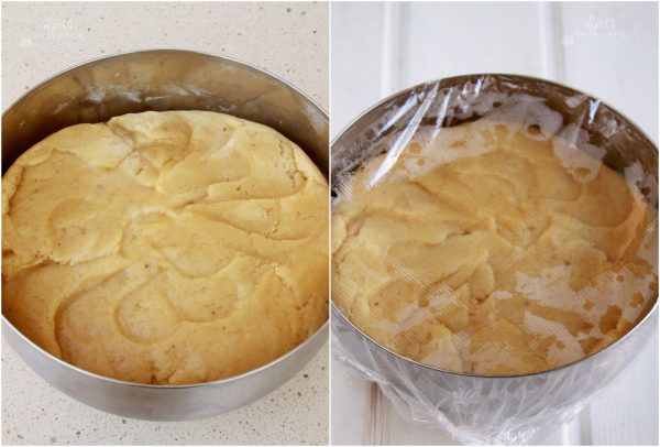 Tarta Naranja y frambuesas, Pastel frambuesas, crema naranja, Reto Cooking the Chef, Samantha Vallejo Nágera, Pastel frutas, tarta de frutas, masa crujiente, receta sweets and gifts, receta tarta fácil, paso a paso tarta Samantha, paso a paso masa tarta crujiente