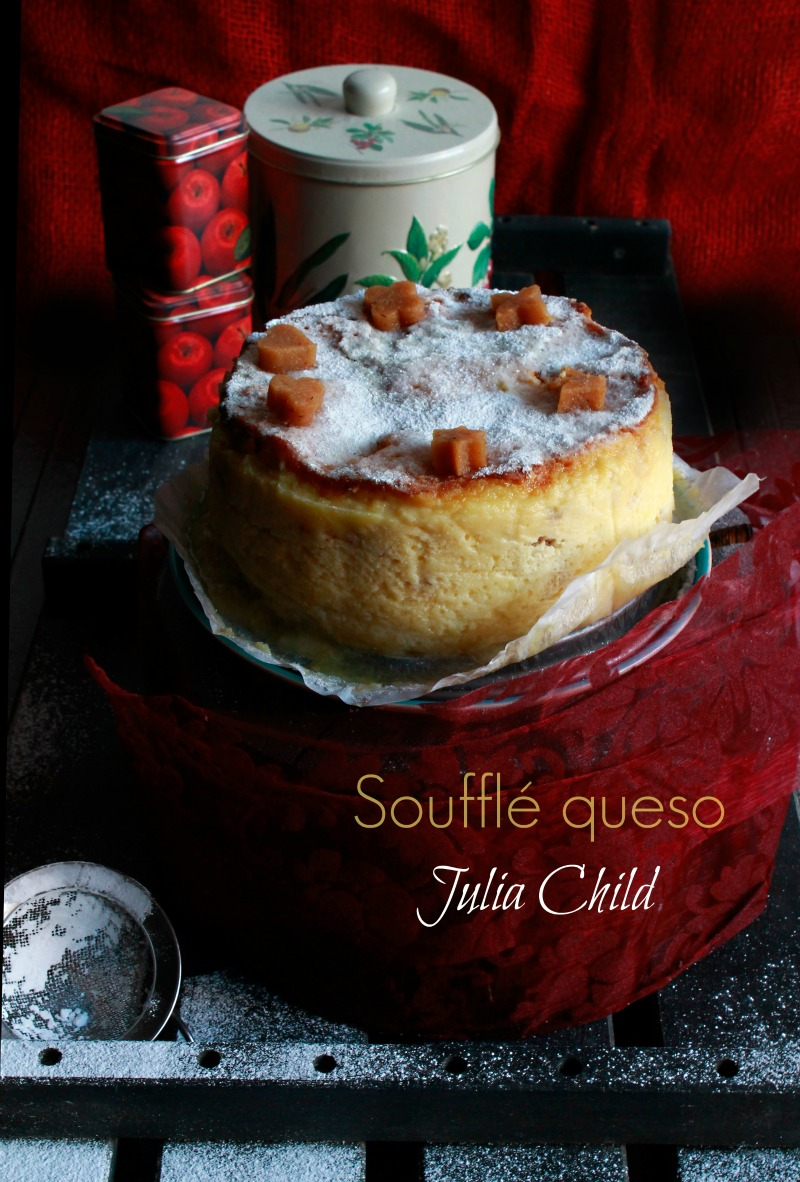Soufflé queso Julia Child