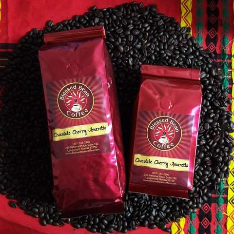 Chocolate cherry coffee