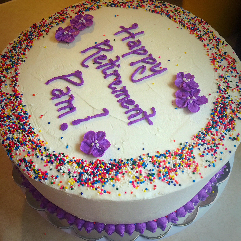 Retirement Cake Images