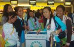 Romblon Council checking in for our flight to Cebu