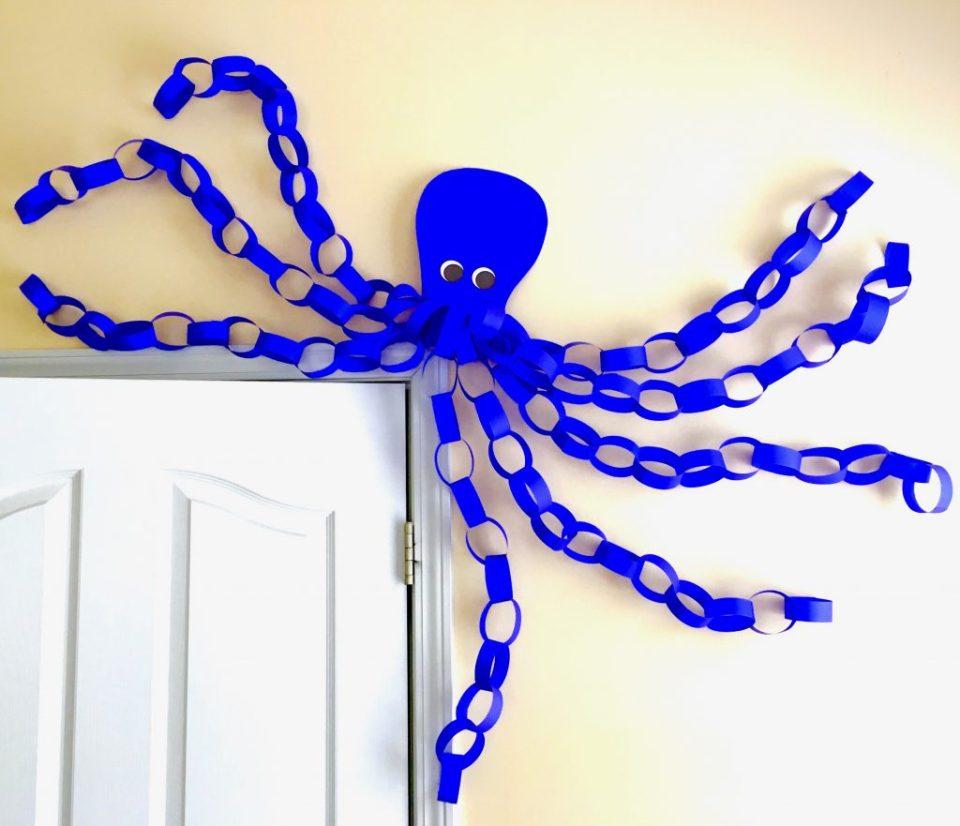Octopus above door