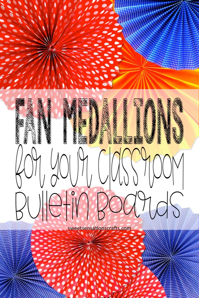 Fan medallions tutorial