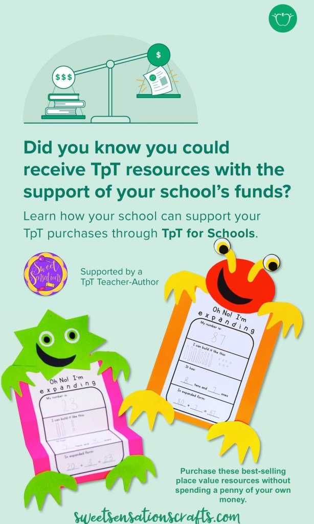 TpT for schools pin