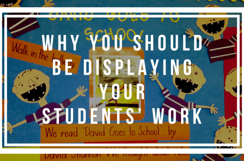 Bulletin Boards with Student work
