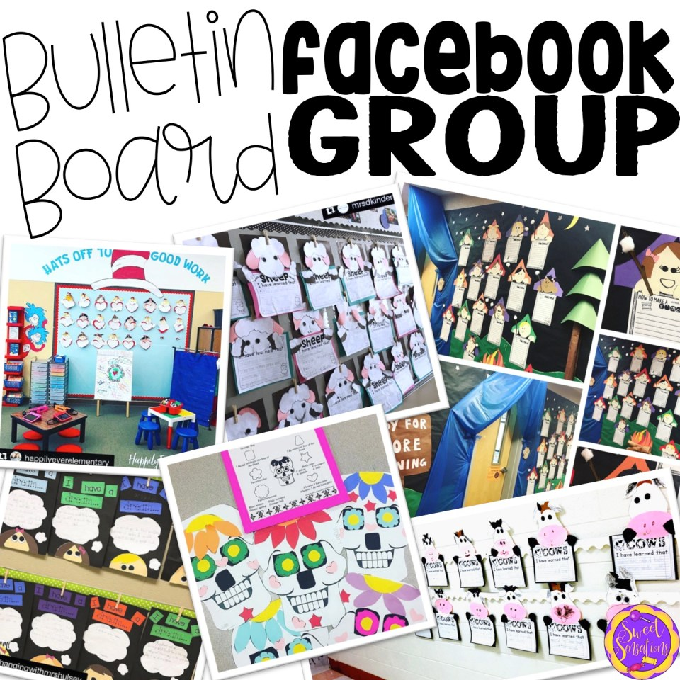 Join this facebook group for bulletin boards and classroom ideas.