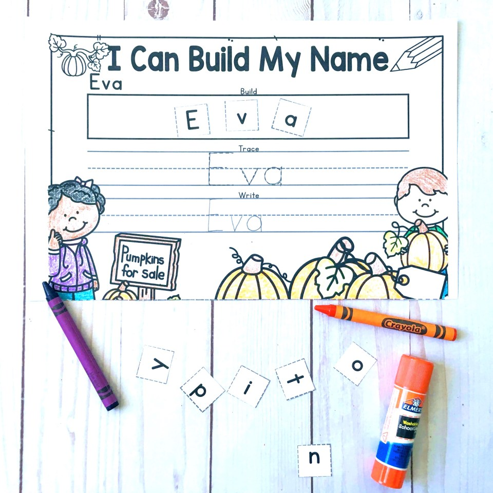Name recognition and name practice editable personalized worksheets!