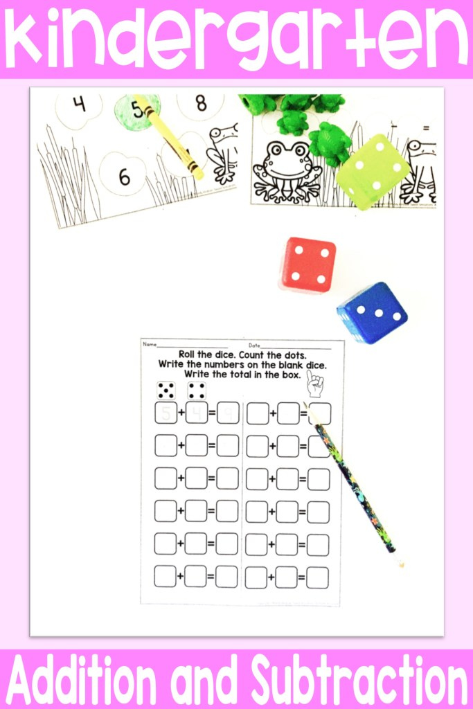 Kindergarten addition and subtraction
