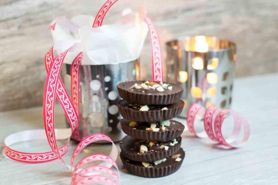 Chocolate cups dairy free vegan gluten free