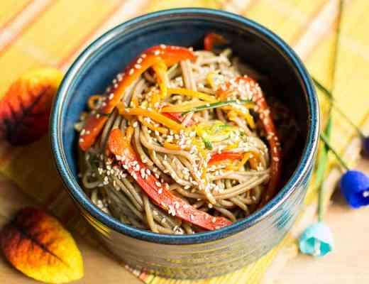 Asian Buckwheat Spaghetti Grano Saraceno Ricetta Cinese