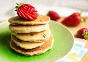Fluffy Gluten free Vegan pancakes Senza glutine