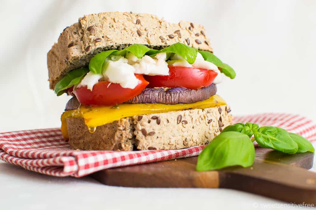 Gluten free vegan sandwich - Panino senza glutine