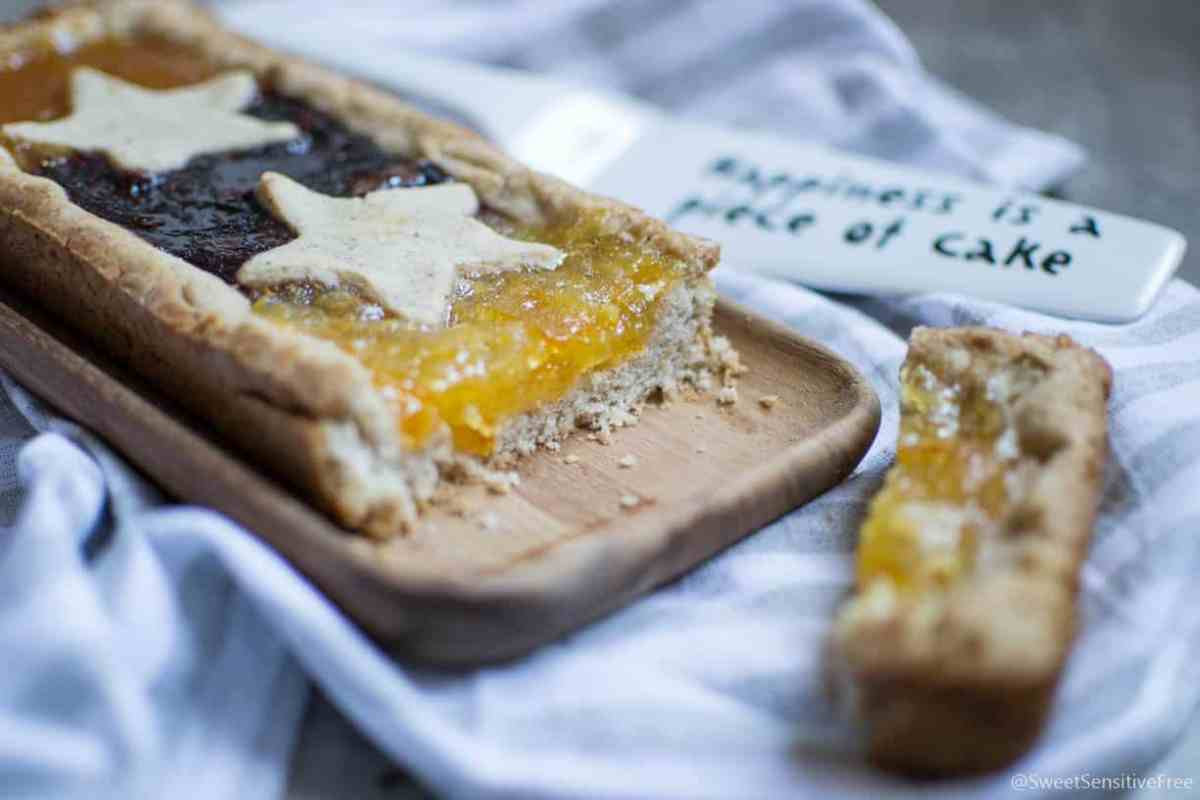 Gluten free vegan tart crust - Frolla senza glutine vegan
