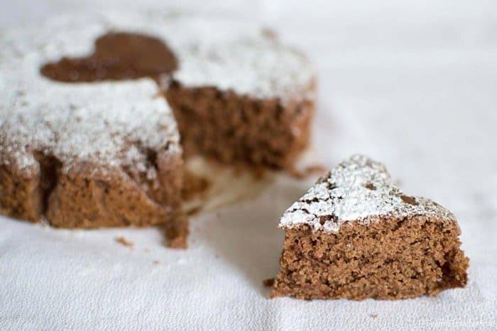 FLUFFY COCOA CAKE WITH AQUAFABA  |  Glutenfree * Dairyfree * Eggfree