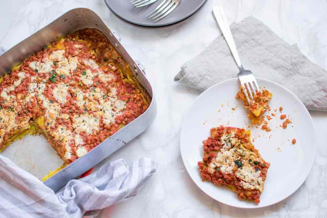 Ricetta lasagne senza glutine senza uova vegan