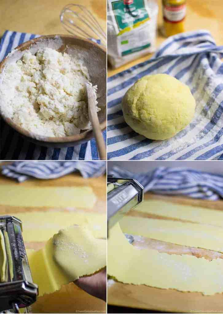 Come fare la pasta fresca senza glutine uova con farine naturali