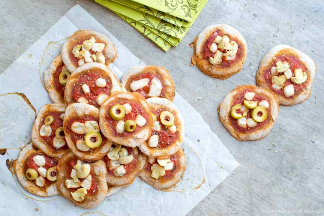 Pizzette veloci senza glutine e senza lievito solo farine naturali