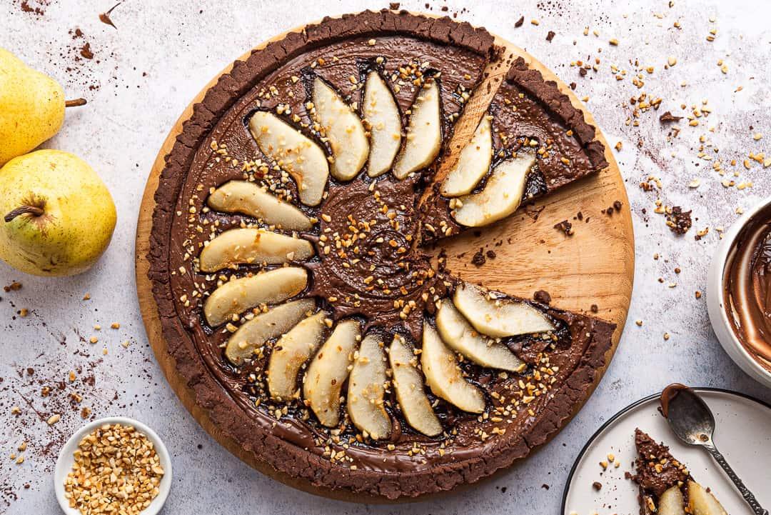 chocolate gluten free tart