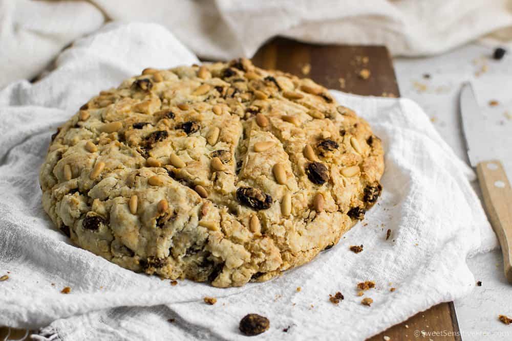 Pandolce Basso Genovese | Senza Glutine, Latticini, Uova