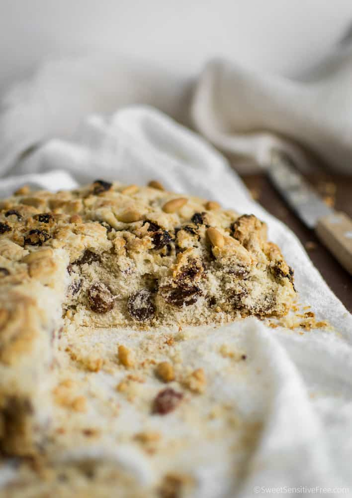 ricetta pandolce genovese senza glutine