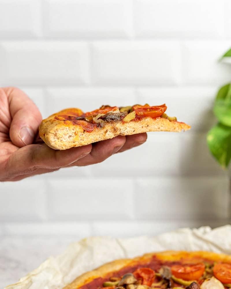 pizza senza glutine a lunga lievitazione 24 ore solo farine naturali