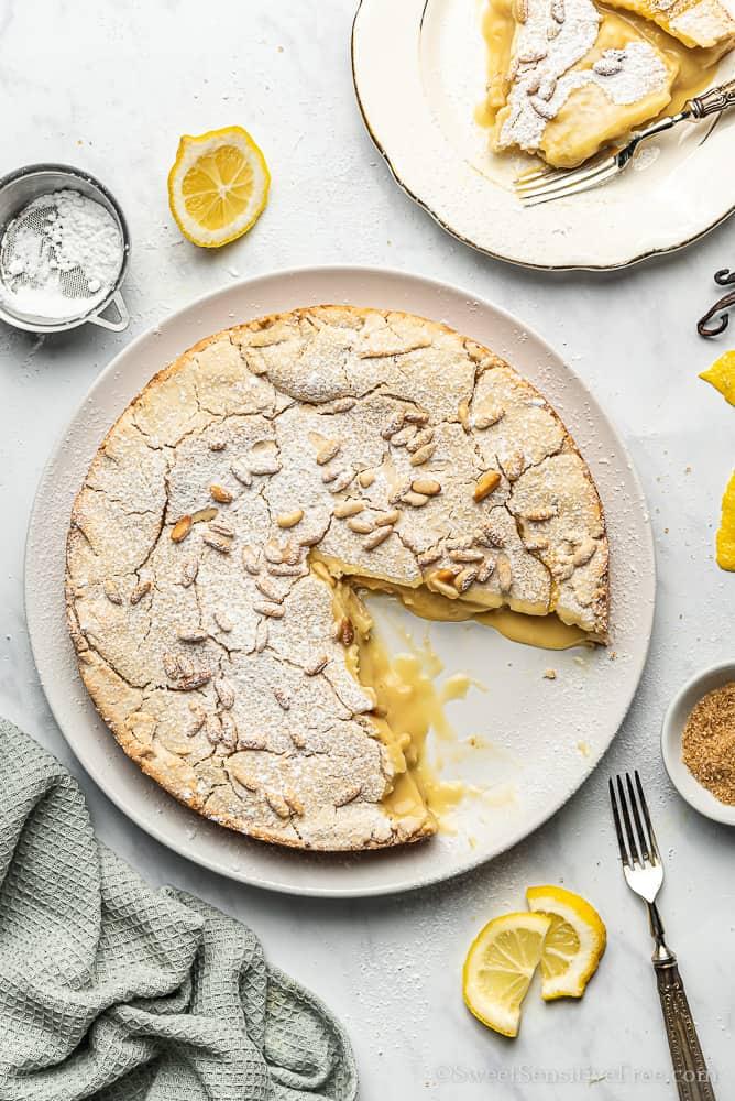 gluten free pie crust vegan pastry cream