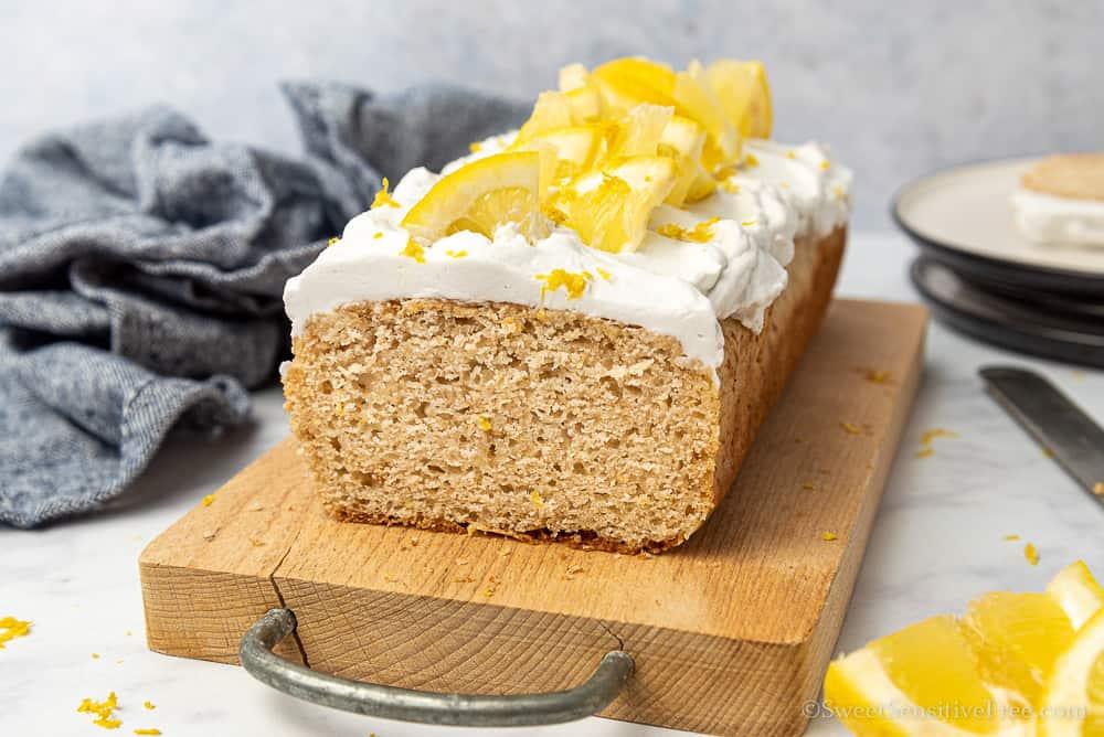 gluten free vegan loaf cake