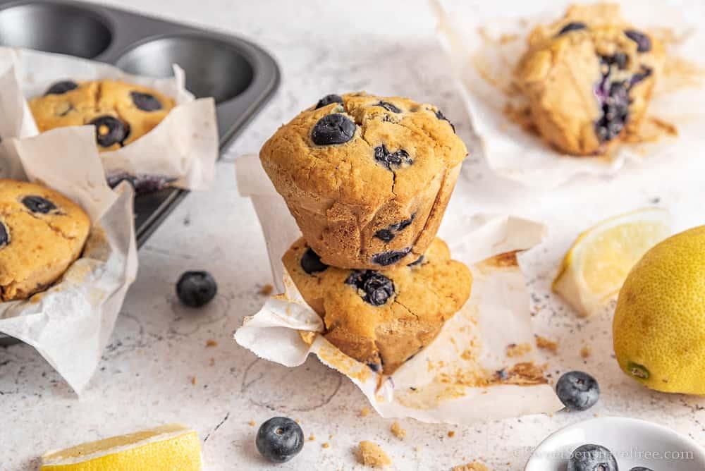 muffin senza glutine e lattosio