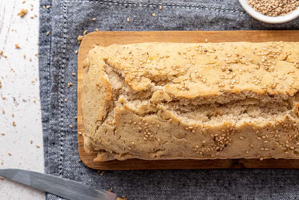 pane senza glutine con farine naturali
