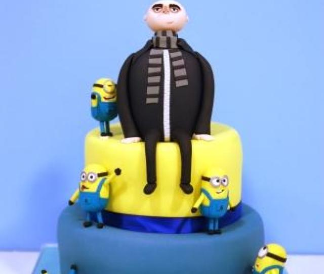 Back To Our Cake Gallery Despicable Me Birthday Cake