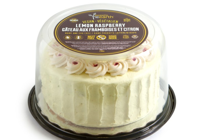 Lemon Raspberry Cake Sweets From The Earth