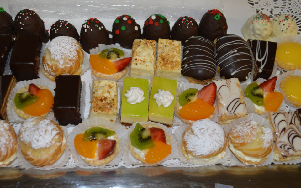 Mini Dessert Pastries