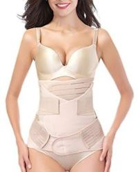 DICOOL 3 in 1 belly, waist and pelvis recovery support girdle corset for after child birth