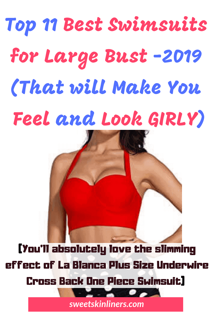 Reviews of the best bathing suits for large bust