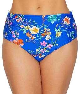 Panache Florentine Mid-Rise Bikini Bottom, best tummy control bathing suits