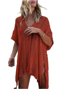 A summer swimsuit cover dress, best swimsuit coverups marketed by Harhay