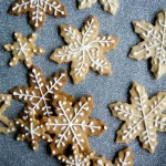 Snow Dusting, and Snowflake Cookies