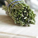 Roasted Asparagus, Leek, and Feta Frittata