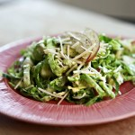 Shredded Brussel Sprout Slaw