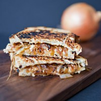French Onion Grilled Cheese