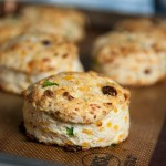 Sun-Dried tomato and Jalapeño cheddar biscuits
