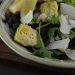 Crab and Artichoke Green Salad