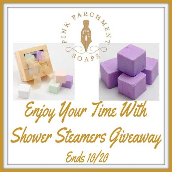 Enter and you could be the lucky reader who will #WIN a Shower Steamer Gift Set when this #SMGN Gift Guide #Giveaway ends 10/20.